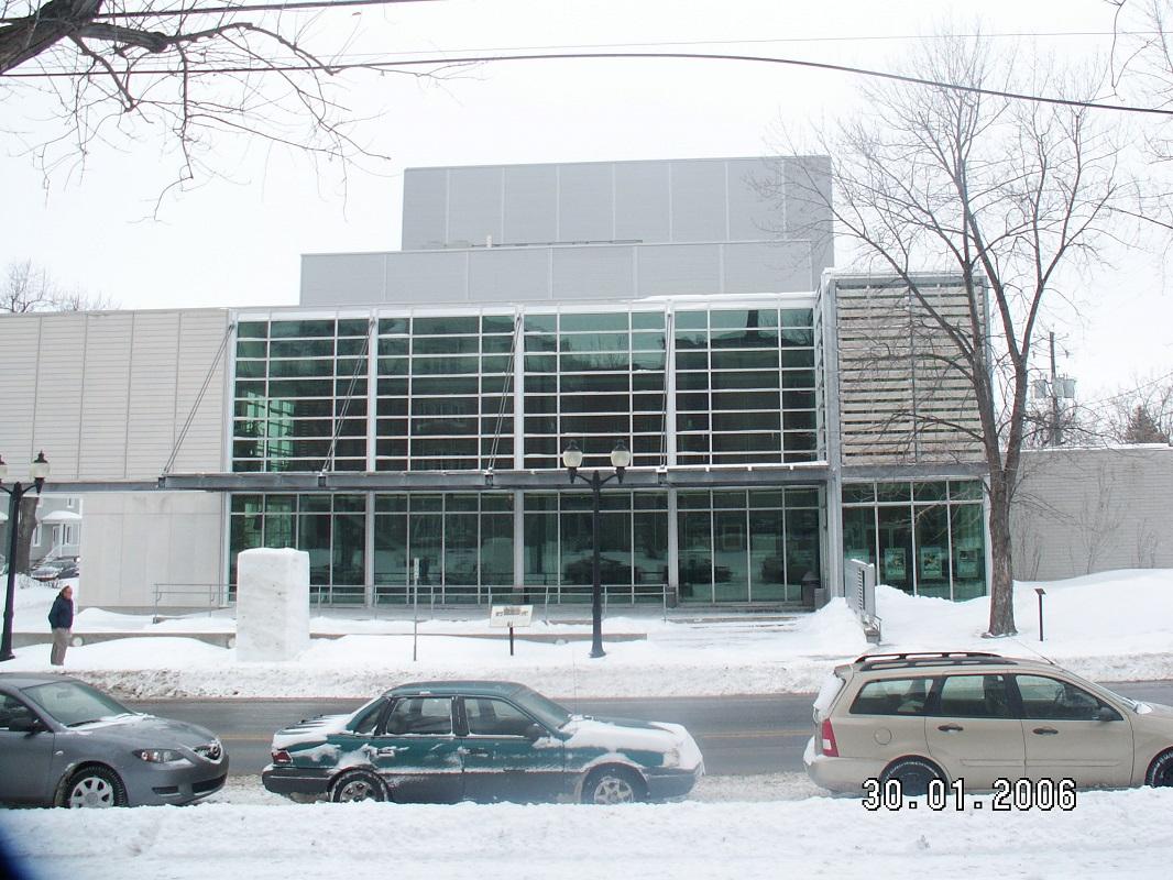 Salle Hector-Charland à L'Assomption, en consortium avec CIMA+.