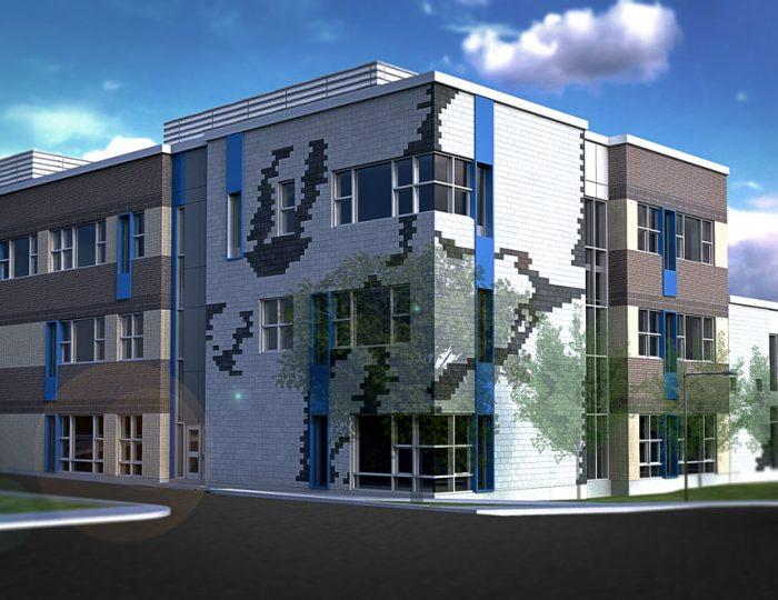 Agrandissement de l'école 115 Alexandre – Laval